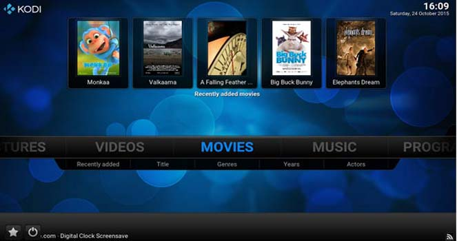 Featured Gadget:  Kodi